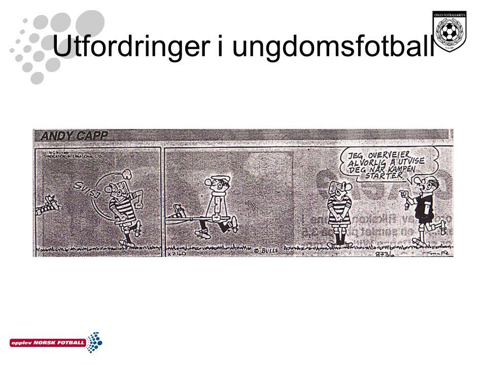 Utfordringer i ungdomsfotball