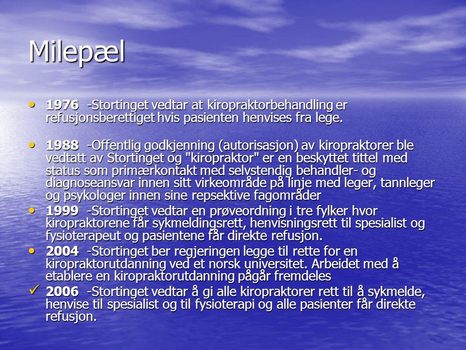 • RAFT klinikken Tverrfaglig klinikk Randaberg • Kiropraktisk Senter Stavanger • Svare på spørsmål fra lesere på www.aftenbladet.no under Spør Kiropraktoren www.aftenbladet.no