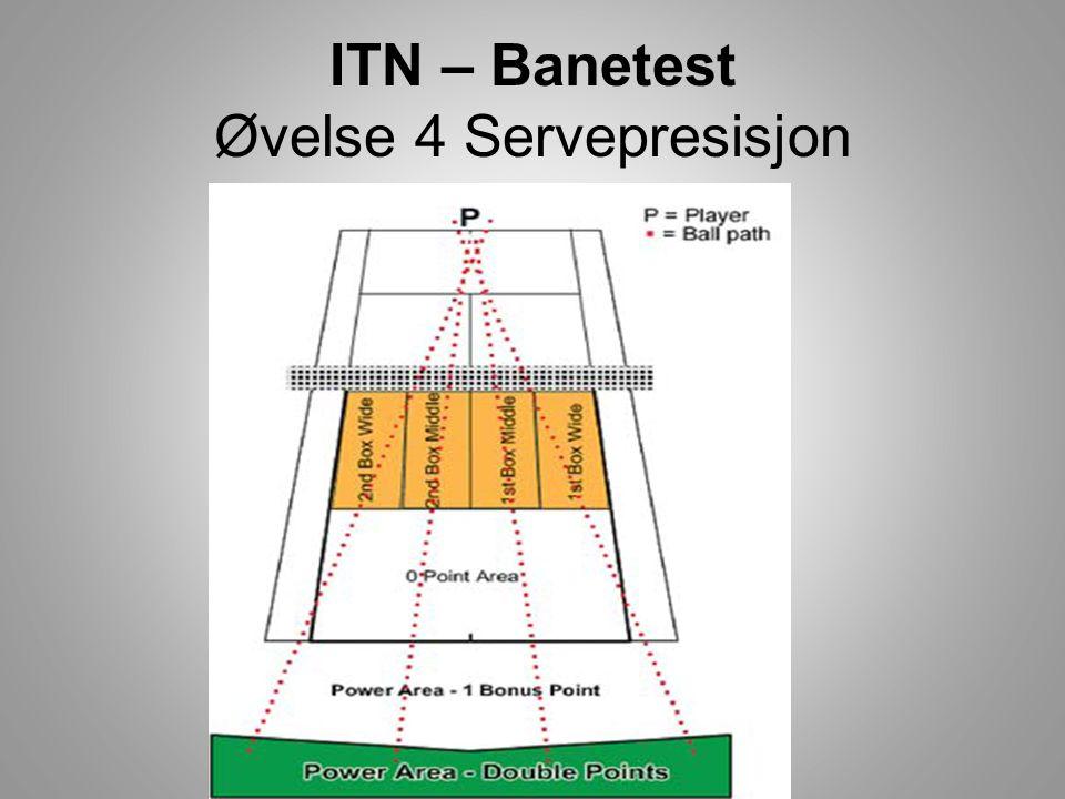 ITN – Banetest Øvelse 4 Servepresisjon
