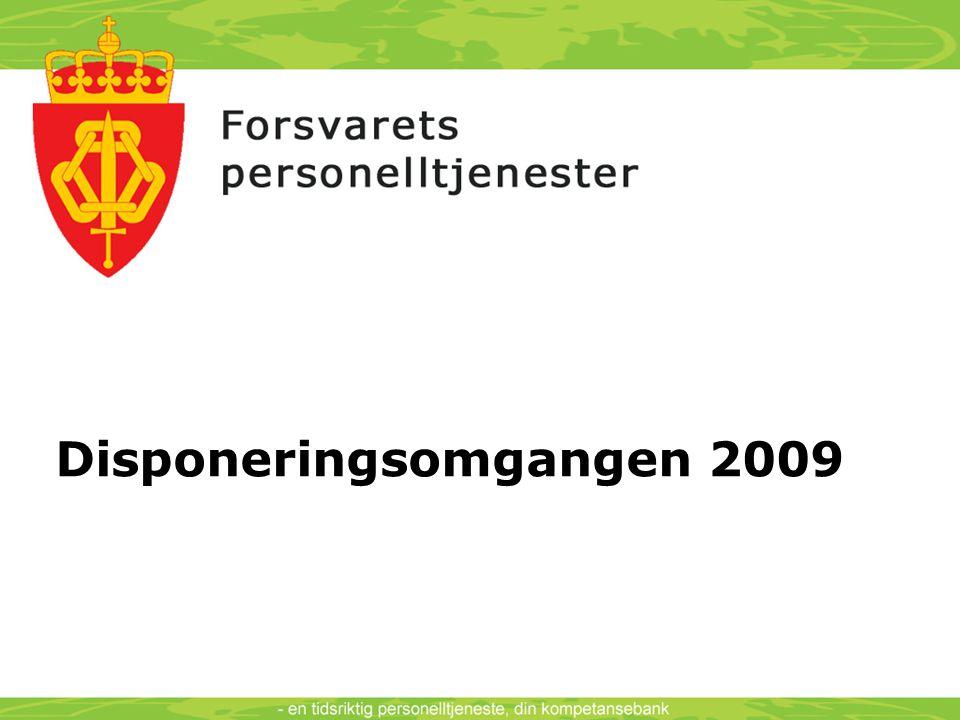 Disponeringsomgangen 2009