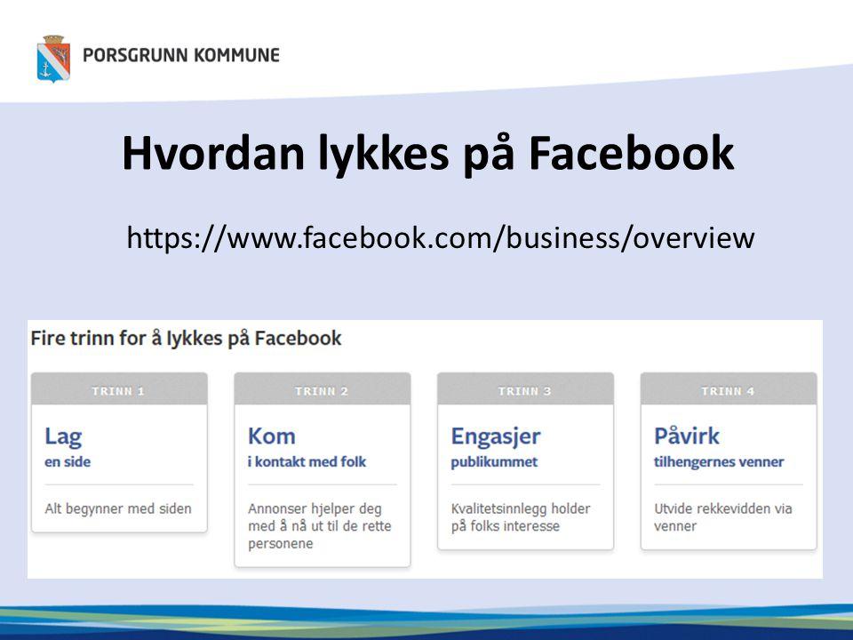 Suksesshistorier https://www.facebook.com/business/success
