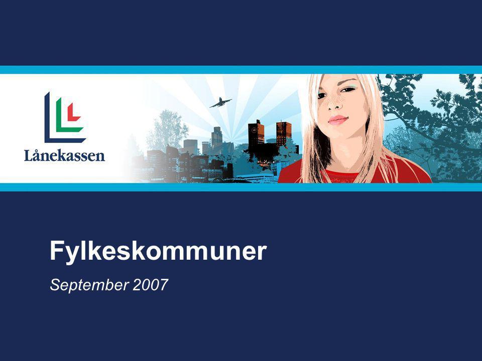 Fylkeskommuner September 2007