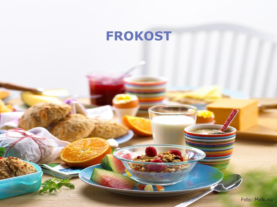 FROKOST Foto: Melk.no