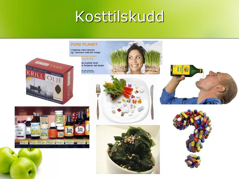 Kosttilskudd