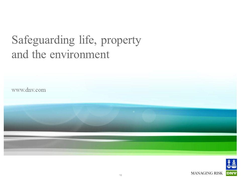© Det Norske Veritas AS. All rights reserved. GodsFergen - Fremtidens kystlogistikk 12. februar2013 Safeguarding life, property and the environment ww