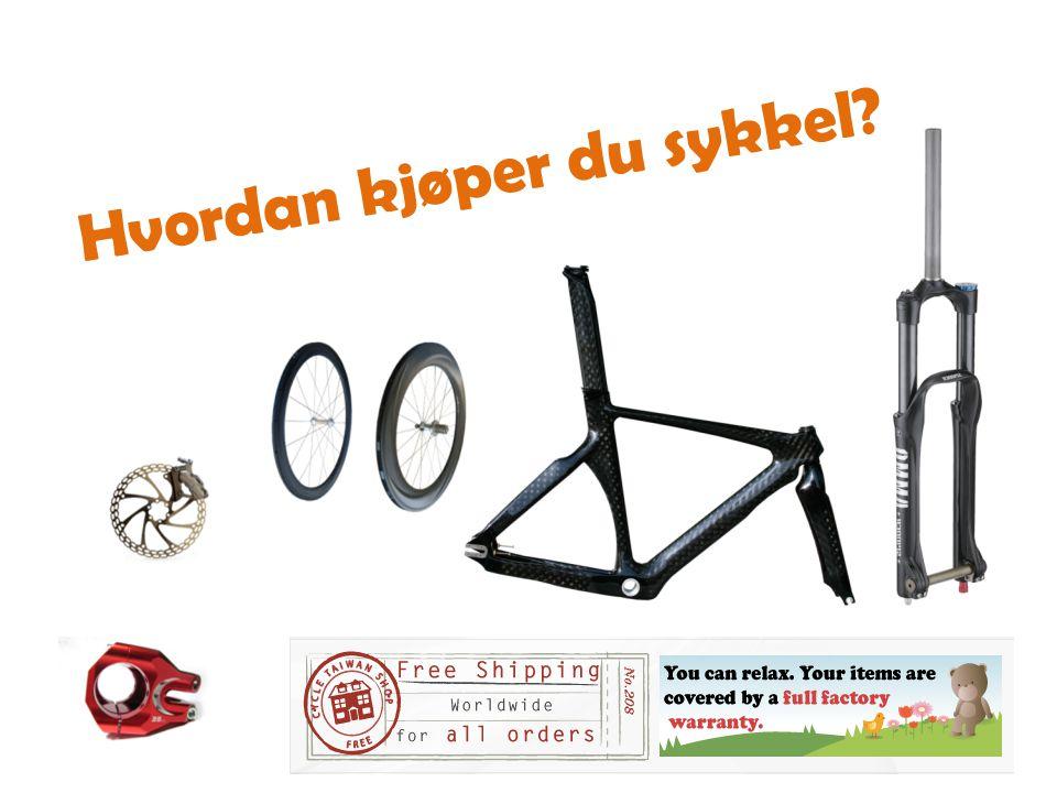 Hvordan kjøper du sykkel?