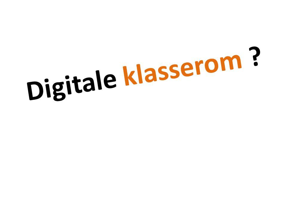 Digitale klasserom ?