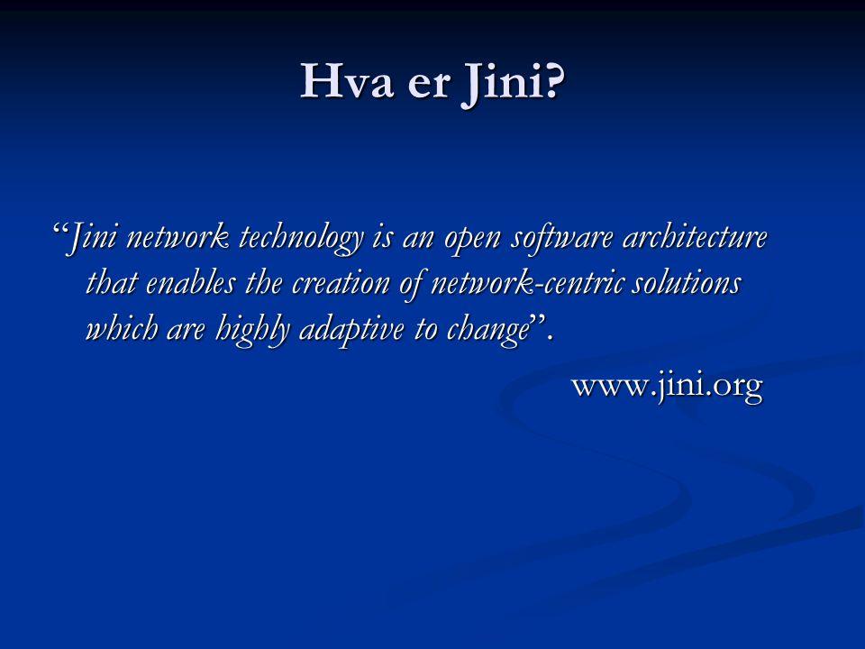Hva er Jini.