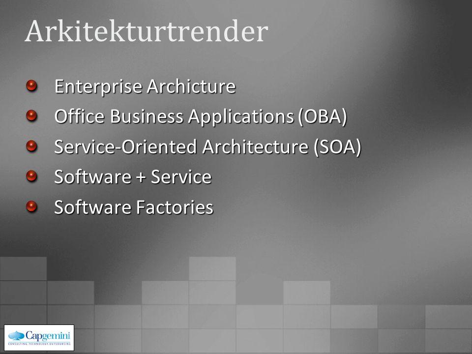 Hjelper deg å bygge spesifikke applikasjoner (smart klienter, tjenester, m.m.) Integrerte pakker med: ArkitektursretningslinjerReferanseimplementasjoner Gjenbrukbare applikasjonsblokker Veivisere Oppmuntrer til prosesser