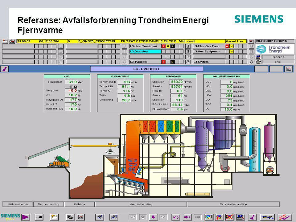 Referanse: Avfallsforbrenning Trondheim Energi Fjernvarme