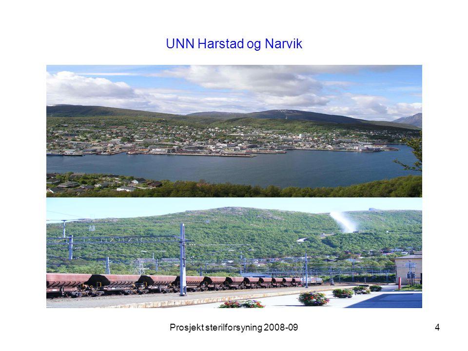 Prosjekt sterilforsyning 2008-095 … og Bodø høsten 2008