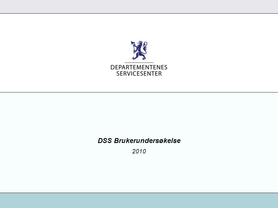 DSS Brukerundersøkelse 2010