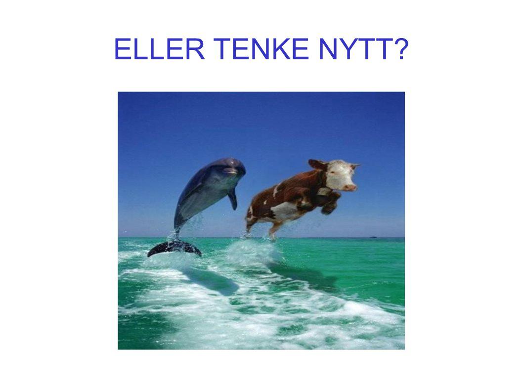 ELLER TENKE NYTT?