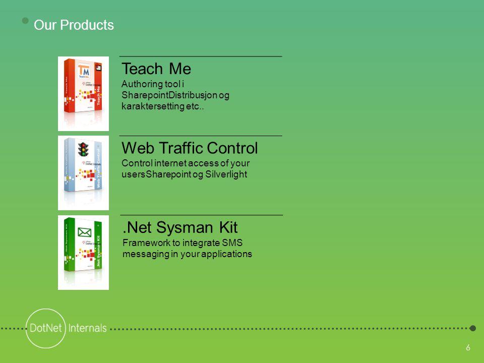 6 Teach Me Authoring tool i SharepointDistribusjon og karaktersetting etc..