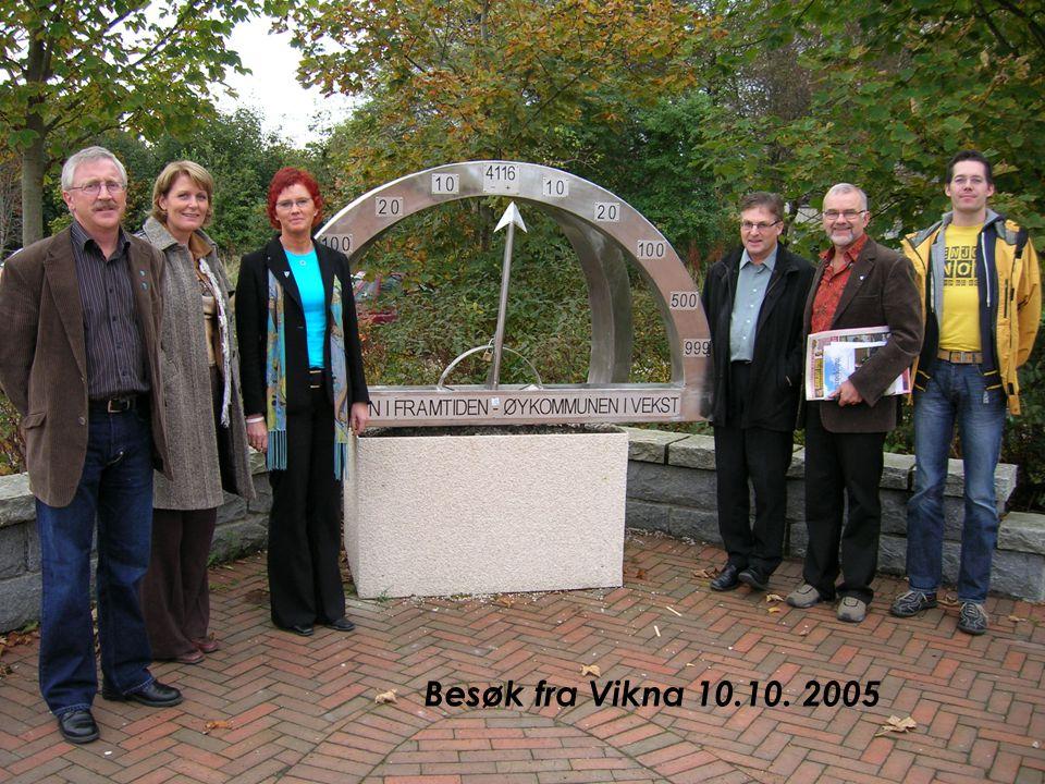 Besøk fra Vikna 10.10. 2005