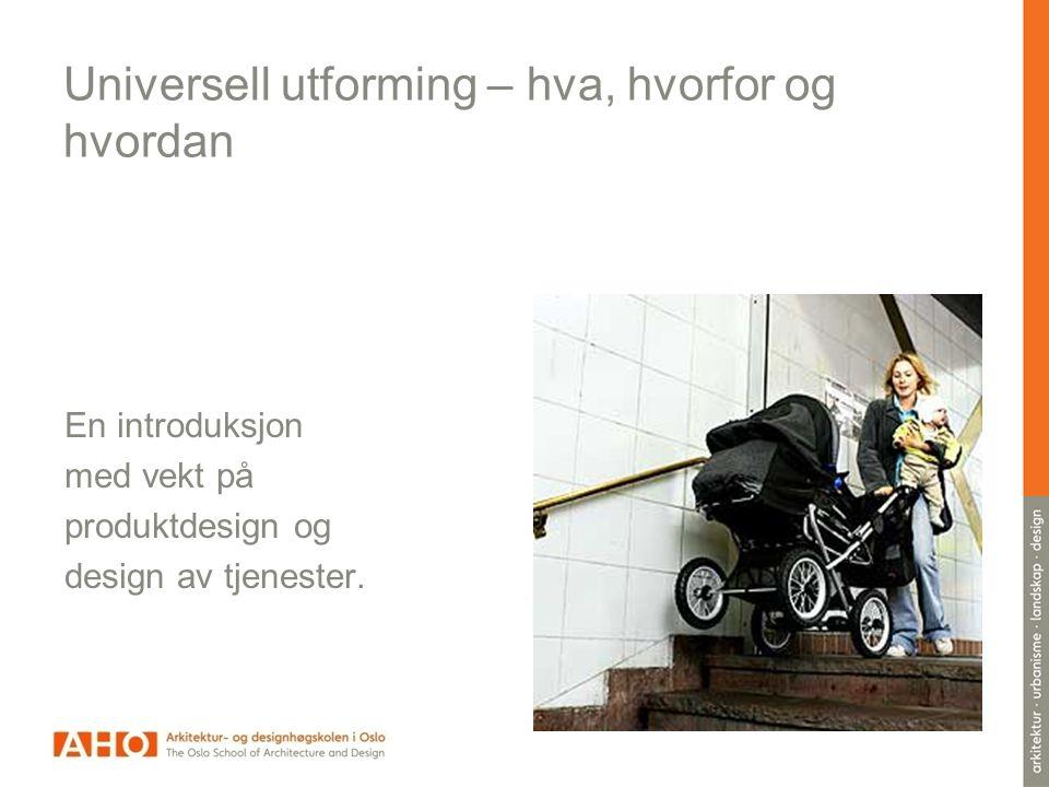 Hvorfor Overlappende funksjonsnedsettelser
