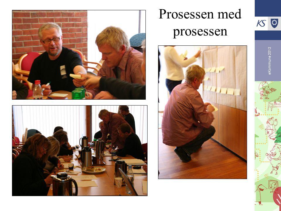 eKommune 2012 Prosessen med prosessen