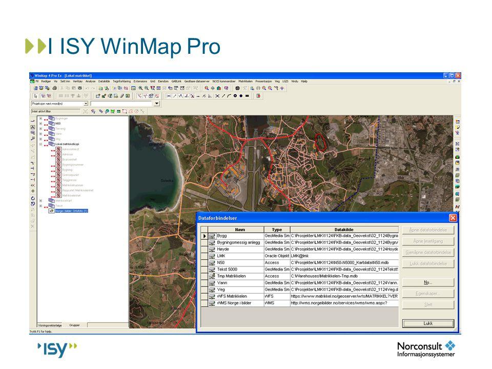 I ISY WinMap Pro