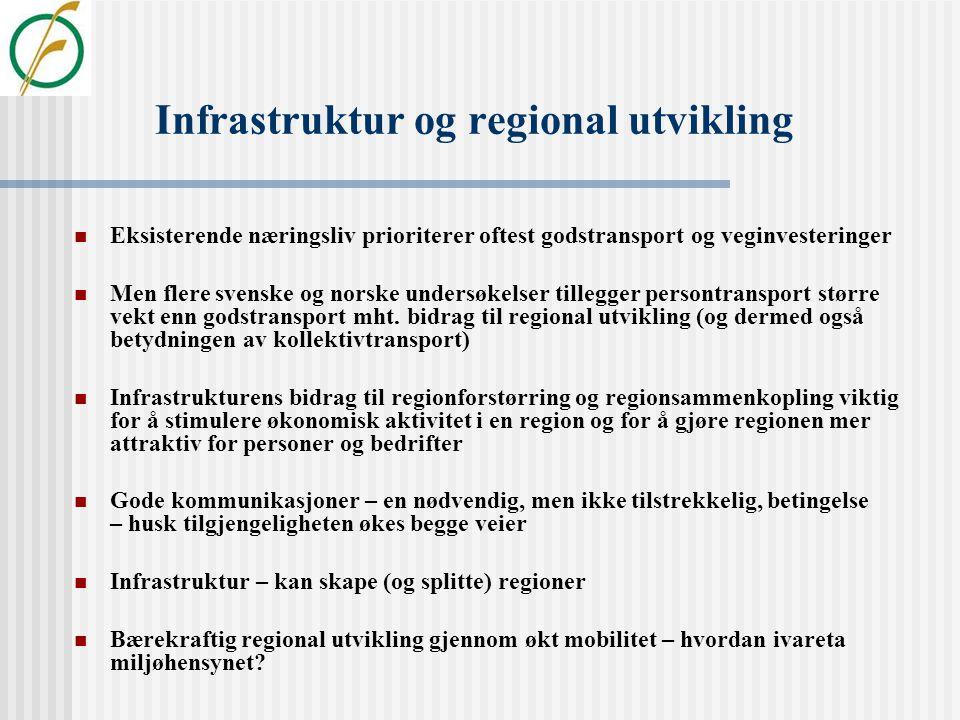 Måling av regional konkurransekraft Hovedfunn og føringer  Big is beautiful og det som har vokst vil fortsette å vokse  Regionsentrenes størrelse og
