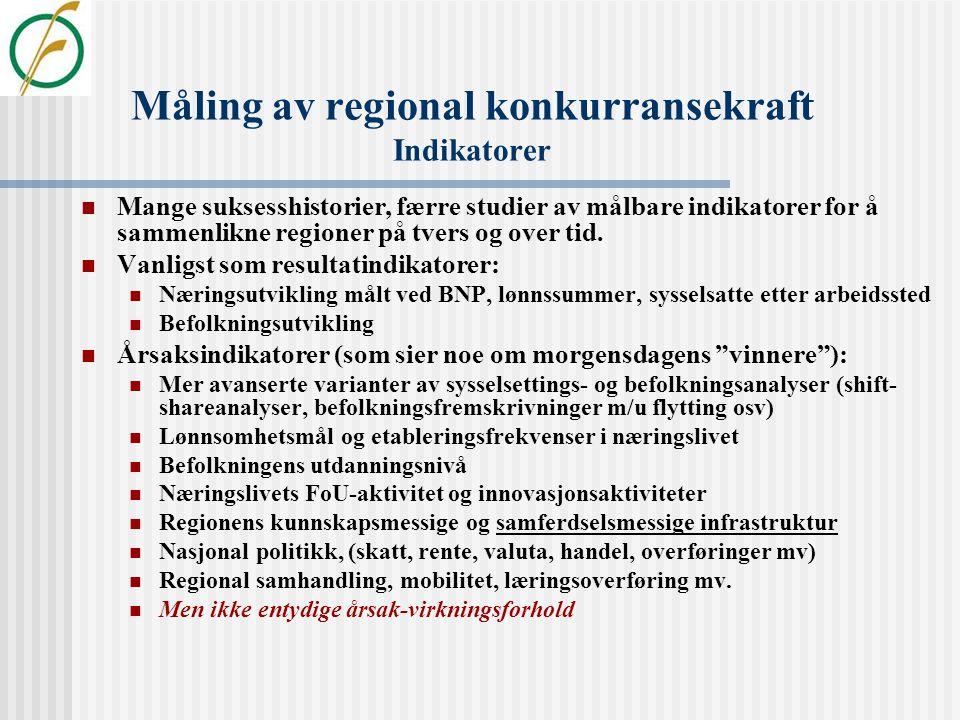 UTVIKLING OG OMSTILLING I INDRE SKANDINAVIA Et forskningssamarbeid mellom Østlandsforskning Høgskolen i Hedmark Høgskolen i Lillehammer Karlstads Univ