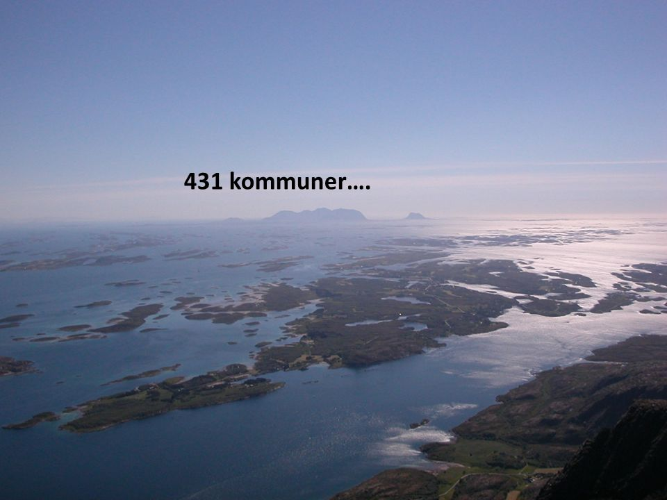 431 kommuner….