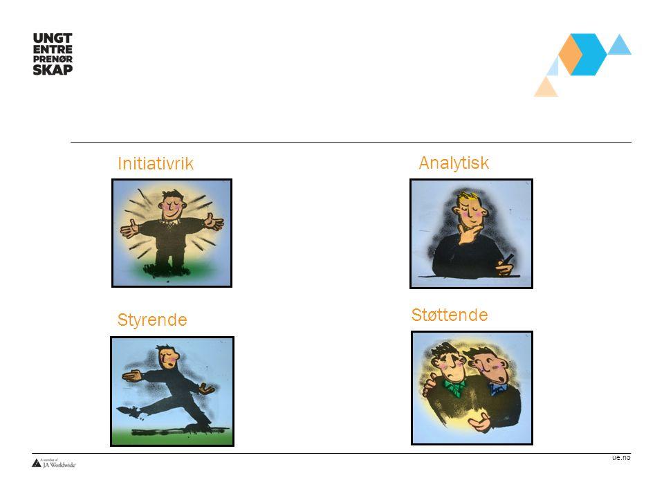 ue.no Støttende Initiativrik Styrende Analytisk