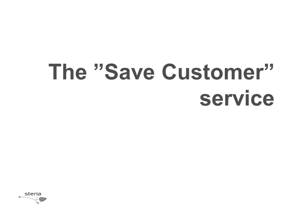 The Save Customer service