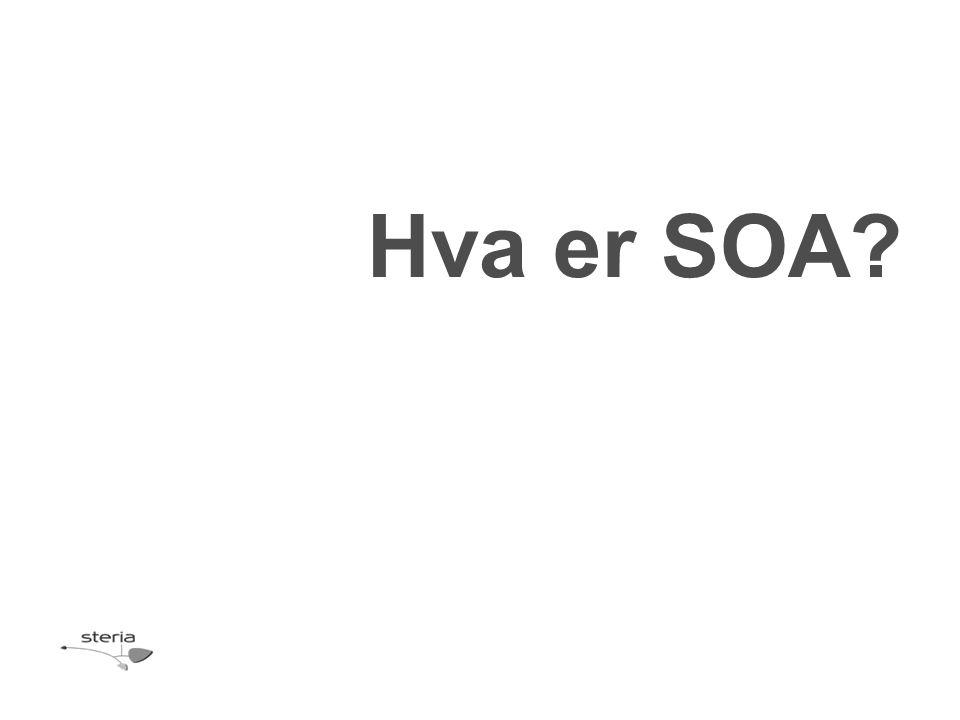 Hva er SOA?
