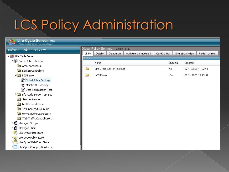 Active Directory Autentisering Extension applikasjon LCS appliaksjoner