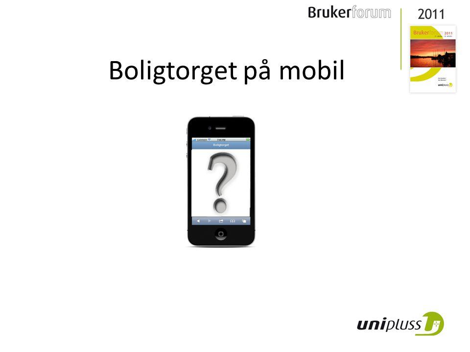 Boligtorget på mobil