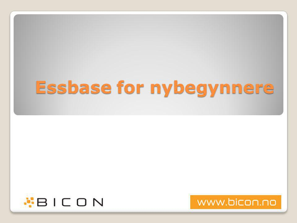 Ord og uttrykk  Block Storage (BSO) ◦Den originale Essbase-databasen ◦Støtter svært avanserte kalkulasjoner ◦Writeback på alle nivåer i kuben ◦Typisk 4-8 små og medium dimensjoner