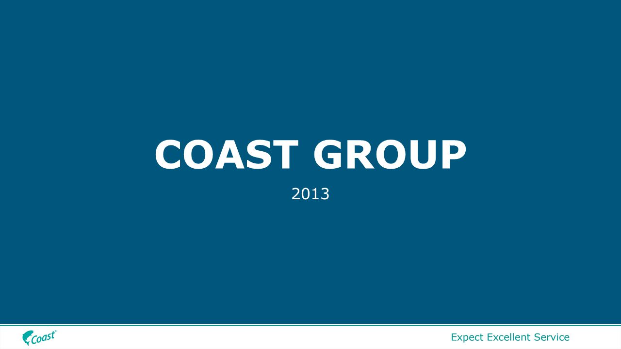 COAST GROUP 2013