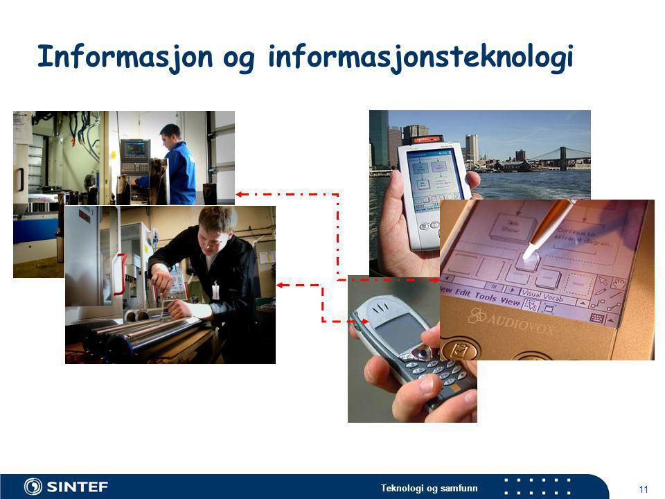 Teknologi og samfunn 11 Informasjon og informasjonsteknologi  Finne noe egnet