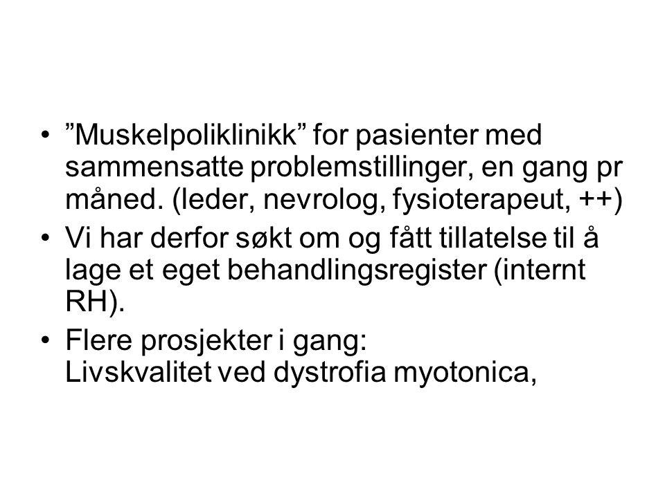 •Utvikle nasjonale nettsider •Informasjonsmateriell •Lage nasjonale retningslinjer for oppfølging og behandlinger i samarbeid med sentra i Norge/Skandinavia.