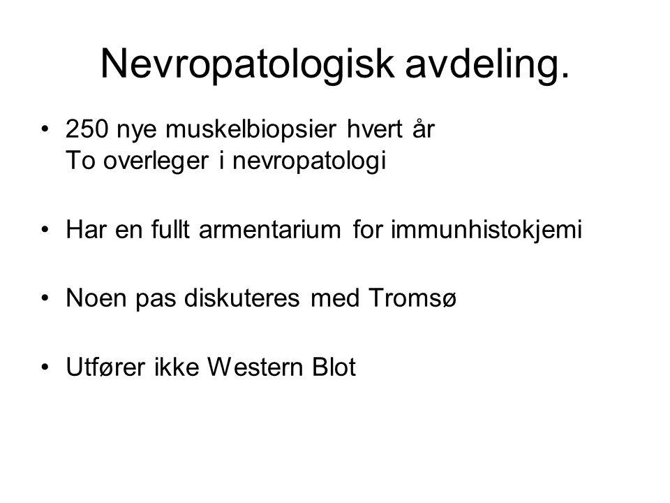 Avdeling for klinisk biokjemi.