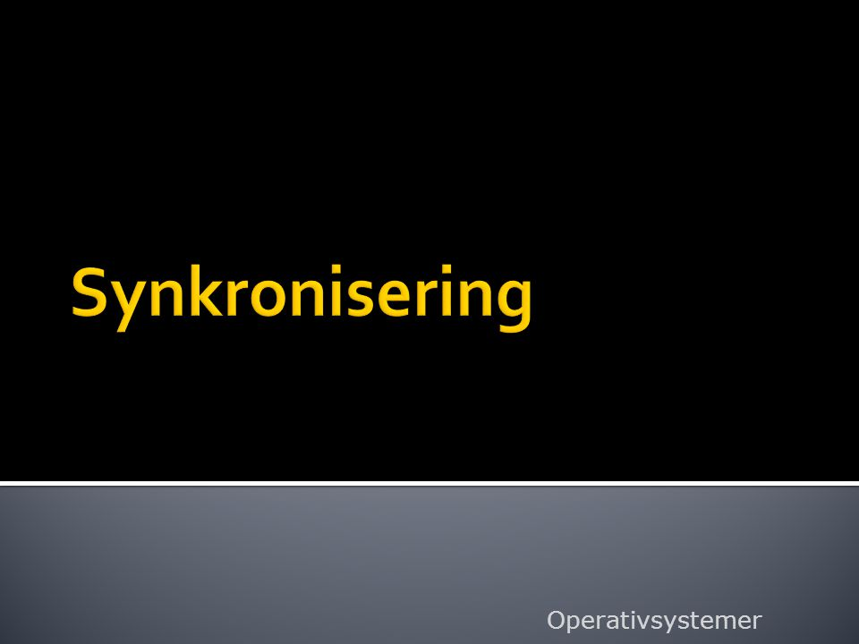  Ufrivillig deling av prosessor vil si at systemet har et avbrytelsessystem som kan avbryte en tråd som kjører i prosessor.