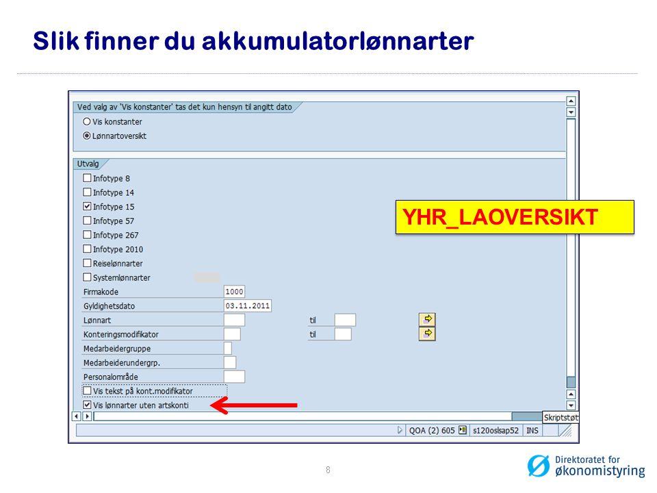 Slik finner du akkumulatorlønnarter YHR_LAOVERSIKT 8