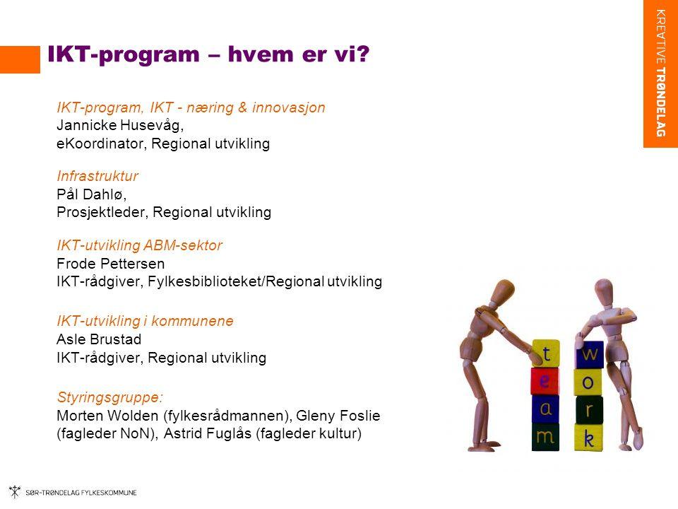 IKT-utvikling mht innovasjon og næringsutvikling