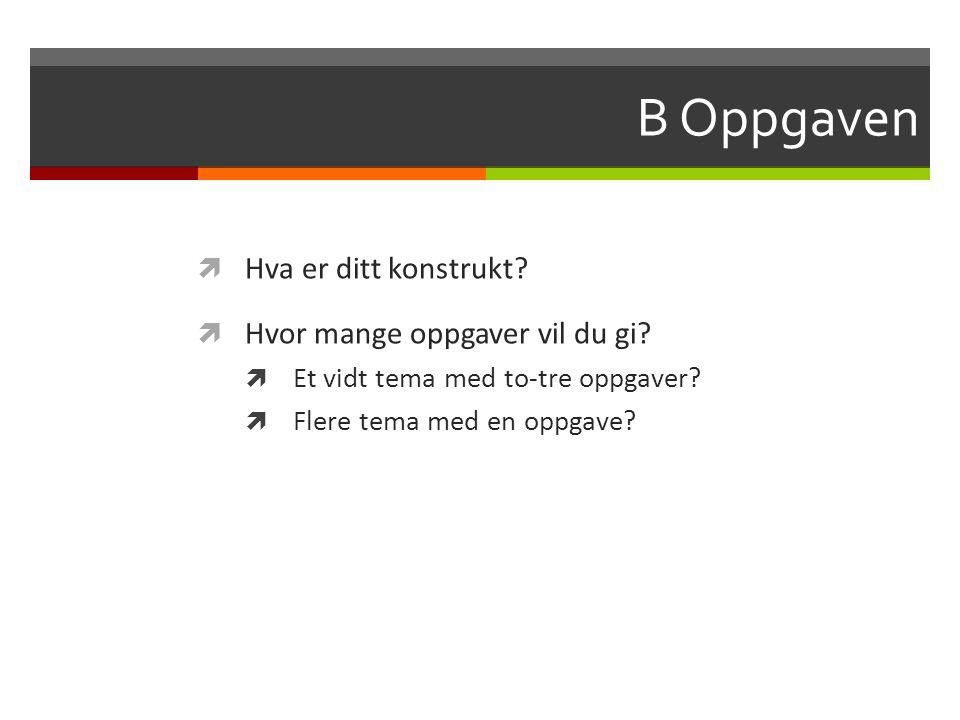 Lo6 Lokalgitt muntlig eksamen sluttvurdering 30 Muntlig eksamen avholdes lokalt og skoleeier er ansvarlig ( fylket, eller kommunen) for å utforme retningslinjene: FELLES KONSTRUKT.