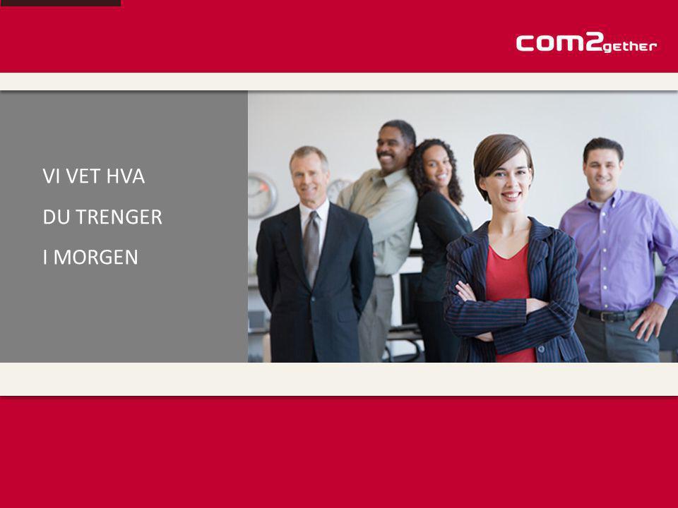 Com2gether har som hovedmisjon å levere tilpassede og komplette kommunikasjonsløsninger for bedrifter til rimeligste pris.