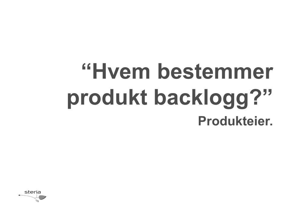 Produkteier.