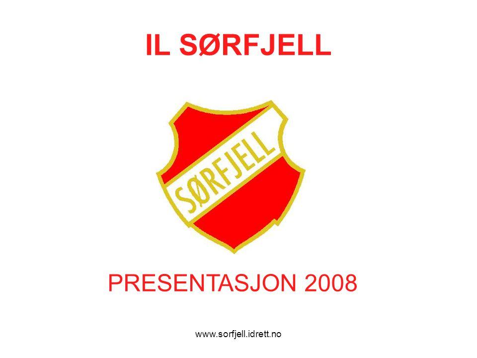 www.sorfjell.idrett.no IL SØRFJELL PRESENTASJON 2008