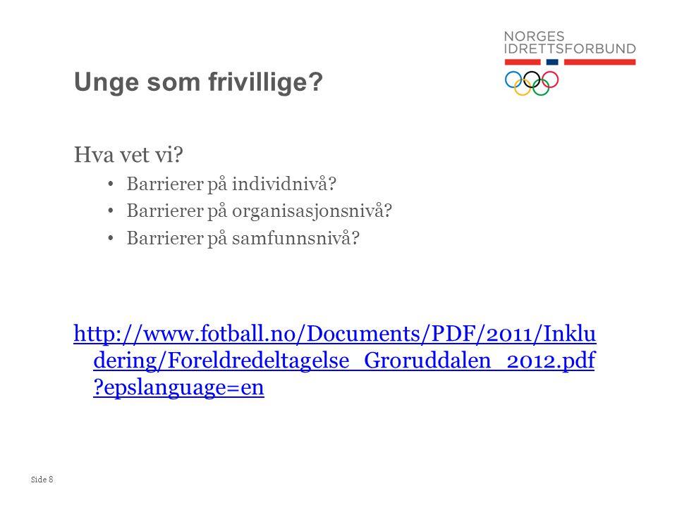 Side 9 Alle norske foreldre vet at de bør ta en omgang som foreldrekontakt på skolen mellom første og niende klasse.