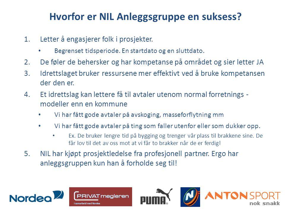 Hvorfor er NIL Anleggsgruppe en suksess. 1.Letter å engasjerer folk i prosjekter.