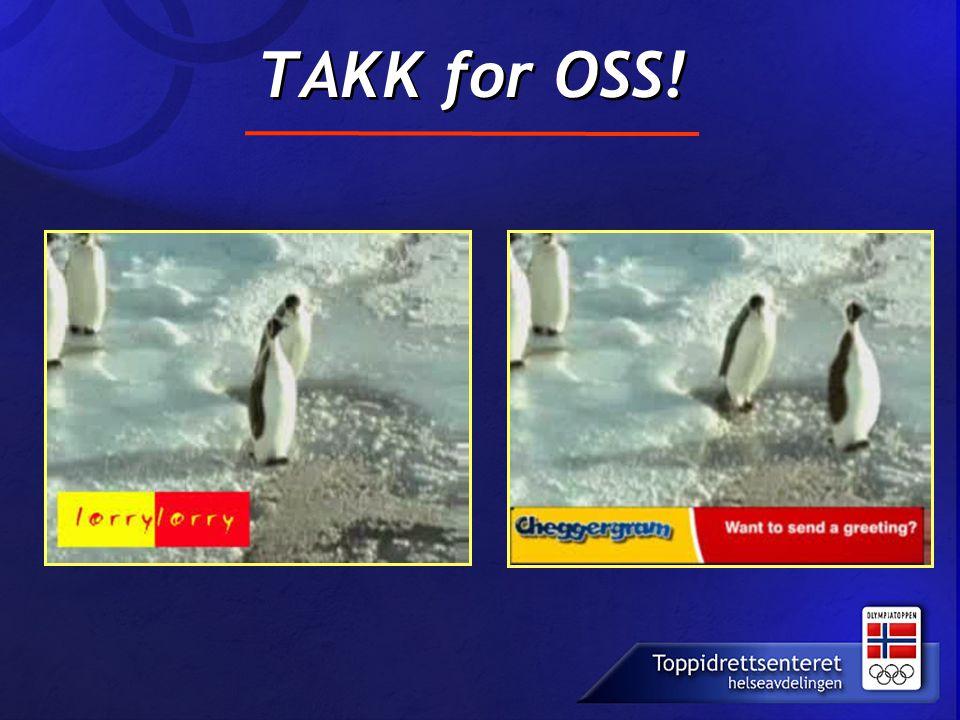 TAKK for OSS!