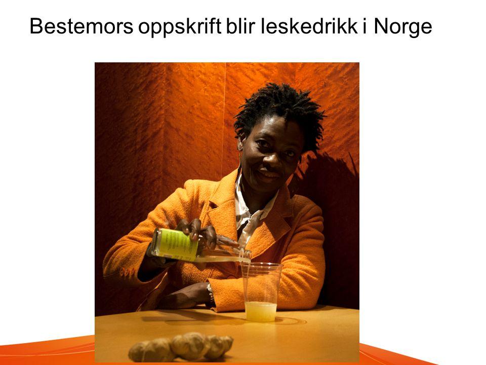 Bestemors oppskrift blir leskedrikk i Norge