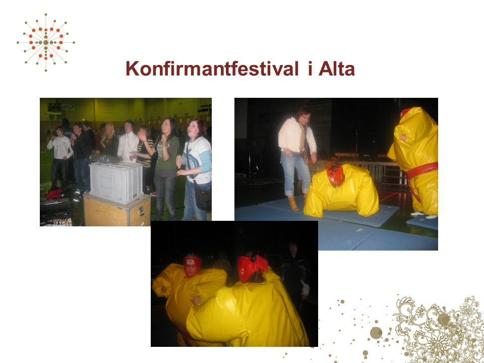 Konfirmantfestival i Alta