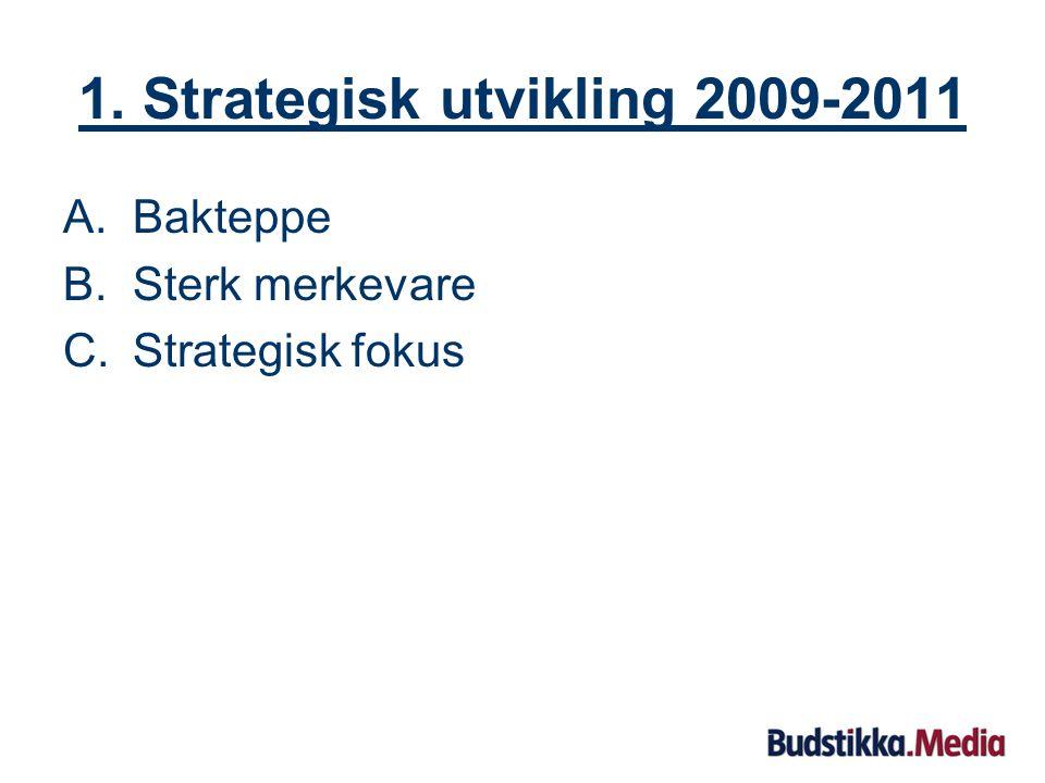 Innhold: 1.Strategisk utvikling 2.Driftsåret 2008 3.Økonomiske resultater 2008 4.Hovedutfordringer 2009