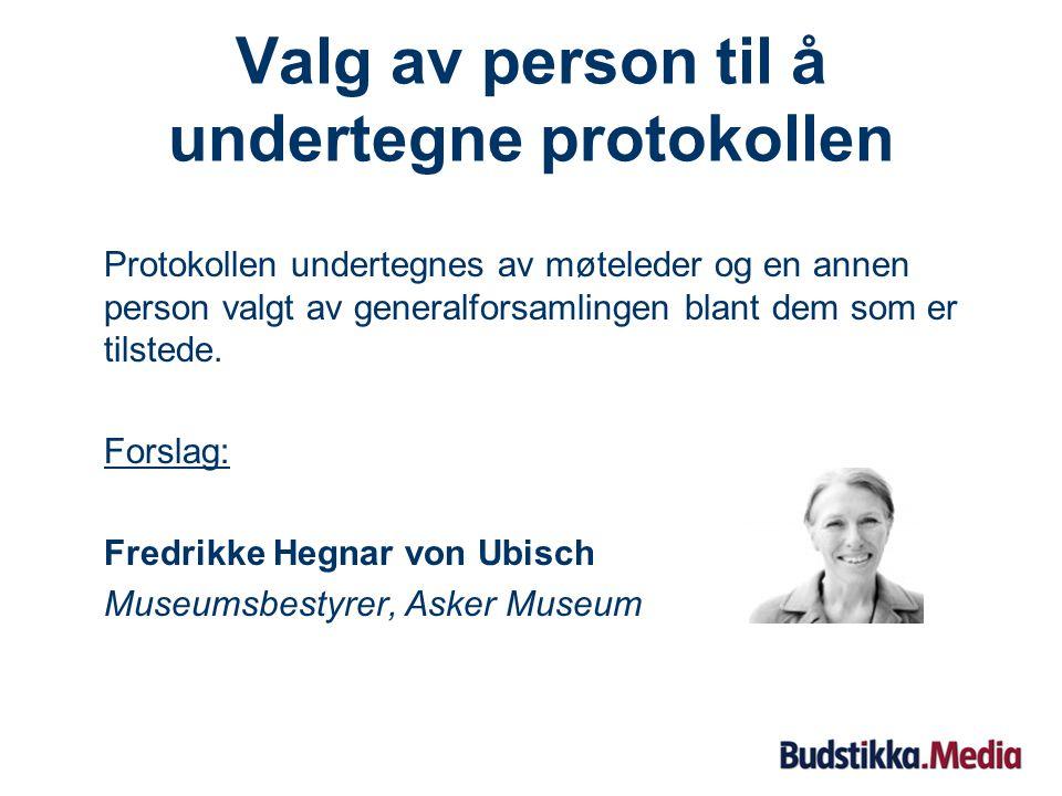 Valg av møteleder Forslag: Advokat MNA Ervin B. Auren Partner hos Thommessen Krefting Greve Lund AS