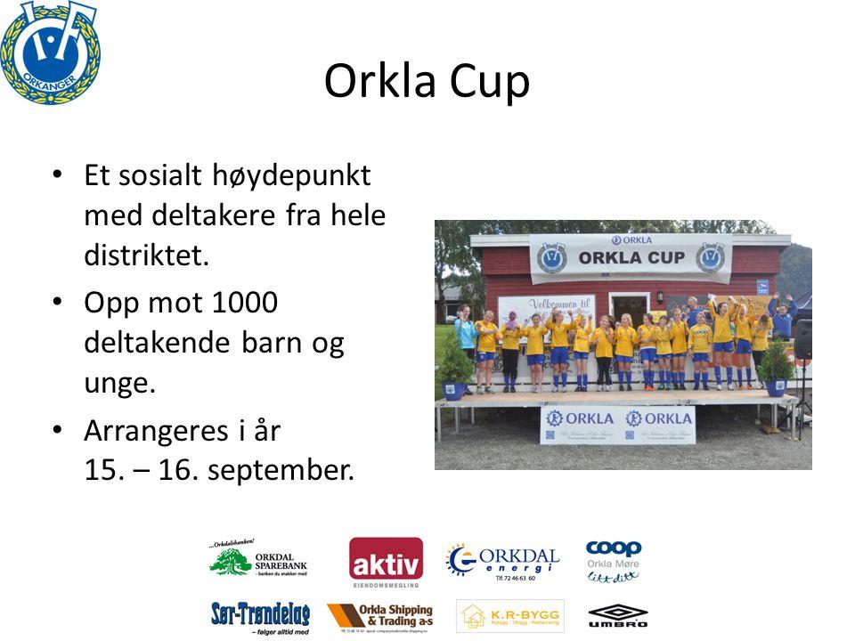 Orkla Cup • Et sosialt høydepunkt med deltakere fra hele distriktet.